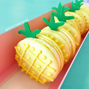Pineapple Theme Macarons
