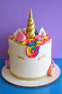Tall Unicorn Cake