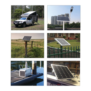 KT SOLAR - 40WATT, 12V SINGLE CELL SOLAR PANEL