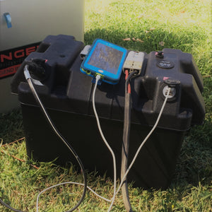 CUSTOM - 12 AC/DC BATTERY BOX