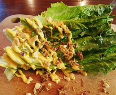 Grill Romaine (Roasted Sesame Dressing) 火燒原棵羅馬生菜沙律 3pcs