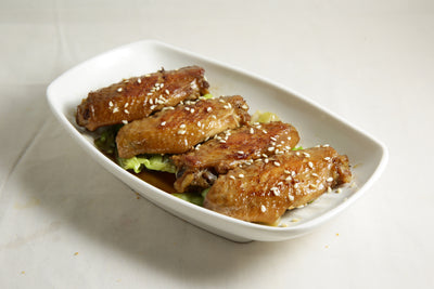 Honey Chicken Wings 蜜汁燒雞中翼 24pcs