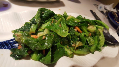 Stir Fried Mixed Vegetable 蒜蓉炒雜菜