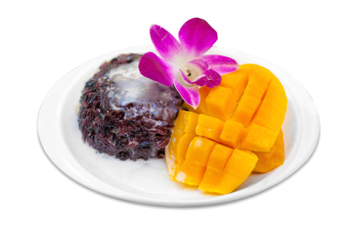 Sticky Rice with Mango and Coconut Milk 香芒椰汁糯米飯