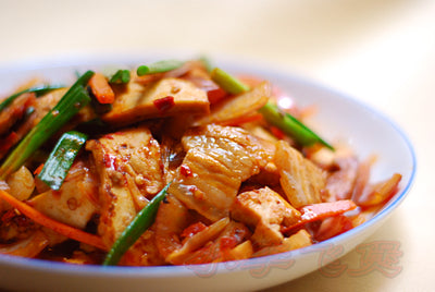 Fried Sliced Pork and Cabbage with Chili Sauce 回鍋肉 1KG - Katering 點點到會