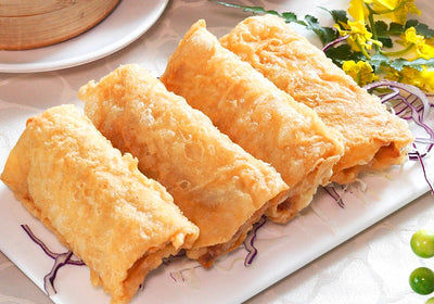 Deep-fried Shrimp Bean Curd Roll 鮮蝦腐皮卷1件