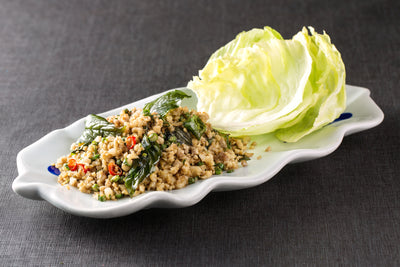 Minced Meat with lettuce Salad 泰式香辣肉碎沙津