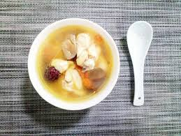 4碗 花旗參燉雞湯 Double Boiled Ginseng & Chicken Soup