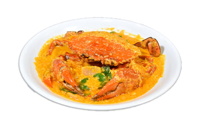 Myanmar Thai Palace Curry Crab 泰皇宮咖喱炒蟹