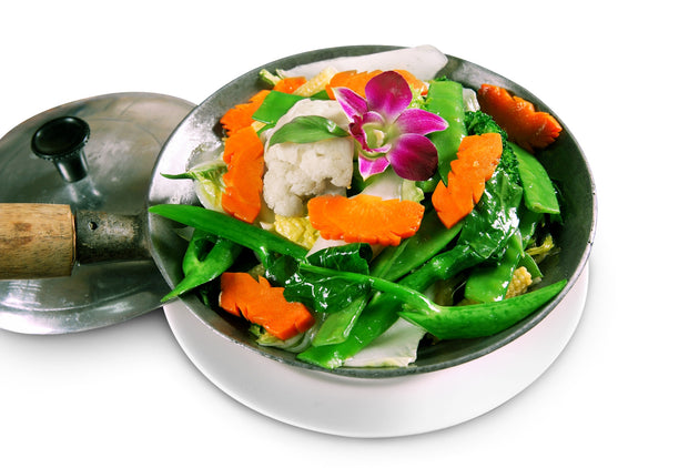 Stir-fried Assorted Vegetables in Thai Style 泰式炒雜菜