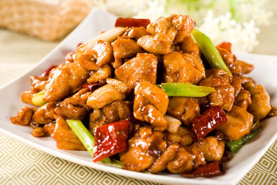 Fried Diced Chicken with Peanuts in Kung Po Style 宮保雞丁 1KG - Katering 點點到會