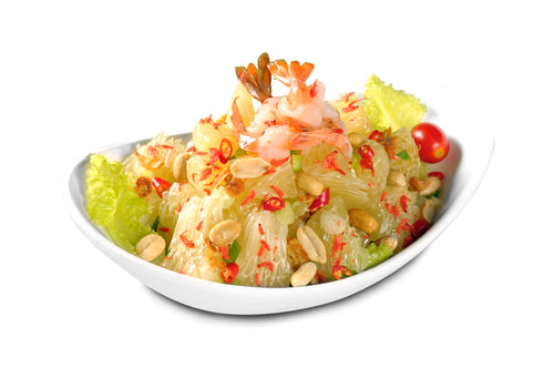 Thai Pomelo Salad with Prawn 金柚子蝦球沙律