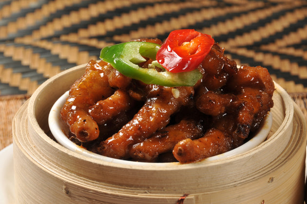 Steamed Chicken Feet in Satay Sauce 馬來沙嗲蒸鳳爪