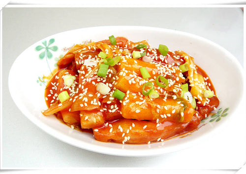 Fried Korean Rice Cake with Vegetables 韓式雜菜炒年糕 1.5kg
