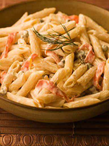 忌廉煙三文魚長通粉 Penne Smoked Salmon in Cream Sauce 1.5lb - Katering 點點到會