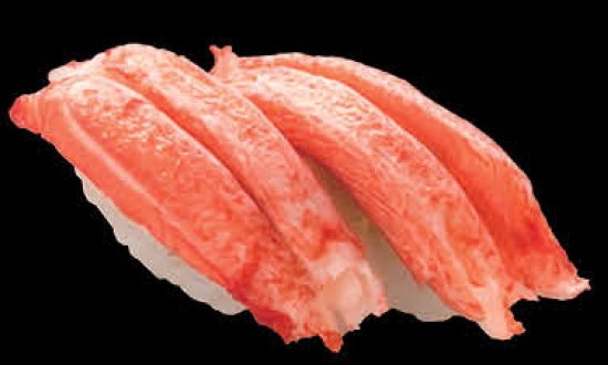 蟹柳壽司 Steamed Fish Pasted Sushi 2件
