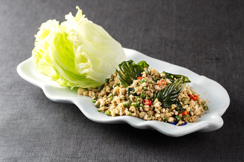 Minced Meat Lettuce Wrap 碎肉生菜包 - Katering 點點到會