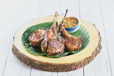 Thai Grill Rack of Lamb 燒羊架 8 pcs - Katering 點點到會