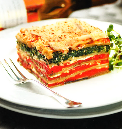 1.5kg 茄子西椒千層麵 Eggplant and Bell Pepper Lasagna