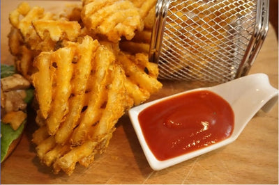 Cheese waffle potato fries 芝士薯格 2lbs