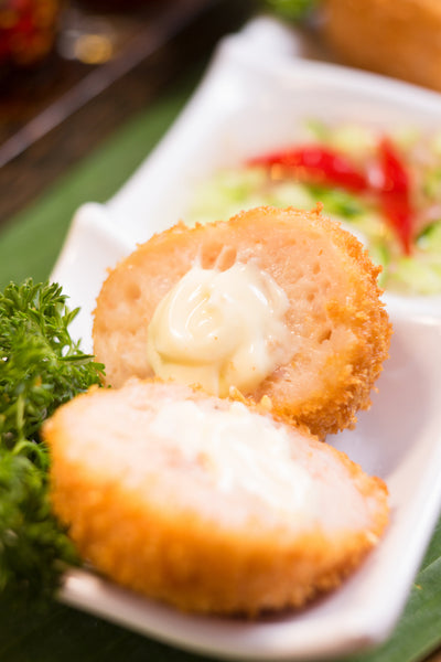 Deep-fried Prawn Balls with Stuffed Cheese 泰式炸軟心芝士蝦球