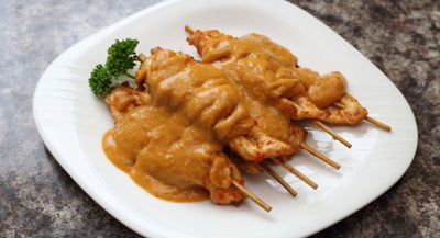 Chicken Satay 沙爹雞肉串 12pcs