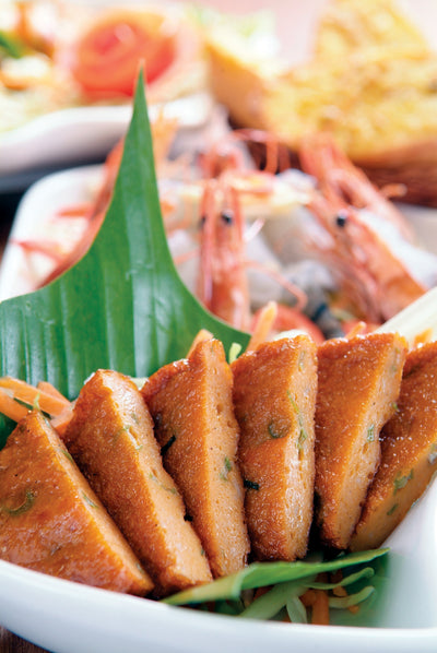 Thai Deep-Fried Fish Cakes 泰式炸(手打)魚餅
