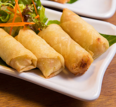 Thai Deep-Fried Spring Rolls  泰式炸(手捲)春卷