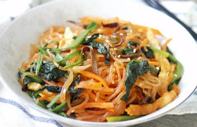 Fried Green Bean Vermicelli with Mixed Vegetable Korean Style 韓式炒粉絲 1.5kg - Katering 點點到會