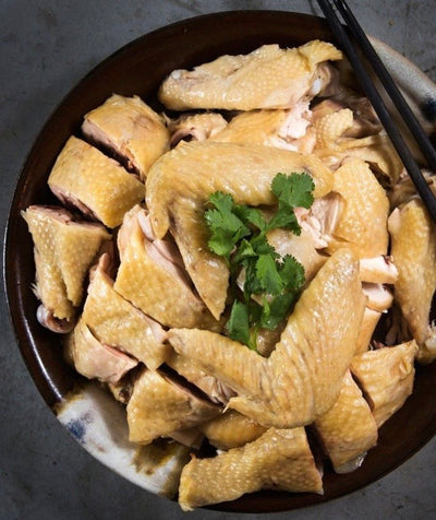 Farm Chicken cooked with Homemade Soup 濃湯浸自家農場新鮮雞