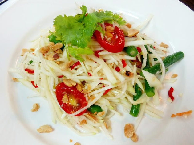 Green Papaya Salad with Lime Dressing 泰式木瓜絲沙律 2lbs - Katering 點點到會