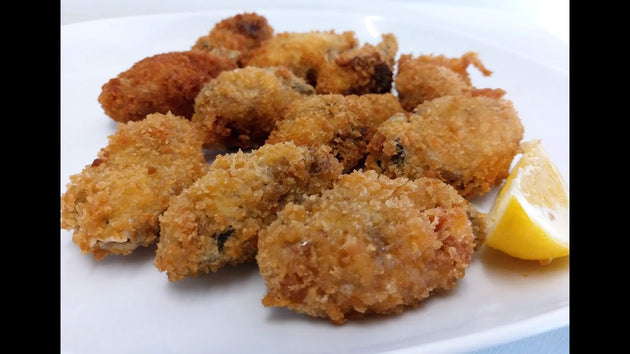 酥炸生蠔 Fried oysters 12Pcs