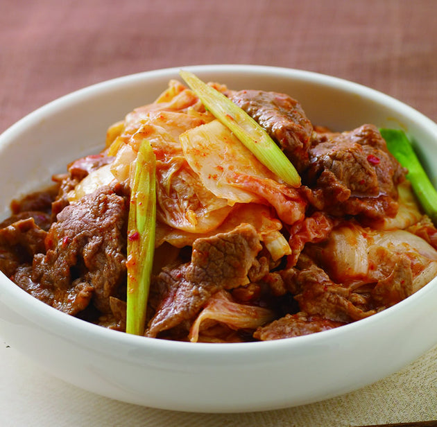 Freid Beef with Mushrooms Korean Style 韓式炒牛肉 1.5KG
