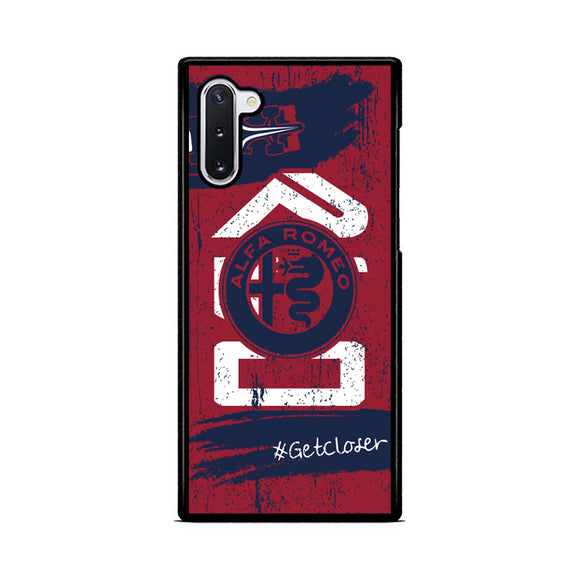 Alfa Romeo Formula 1 - Get Closer Samsung Galaxy Note 10  Case