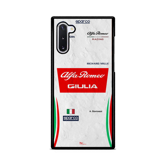 Antonio Giovinazzi Samsung Galaxy Note 10  Case