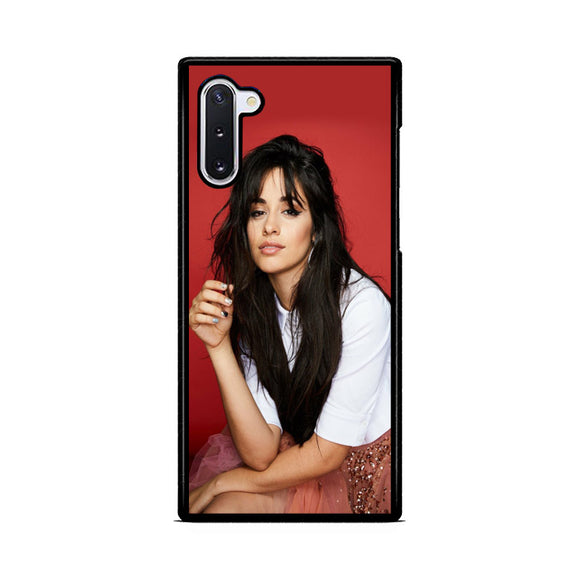 Camila Cabello In Red Samsung Galaxy Note 10  Case