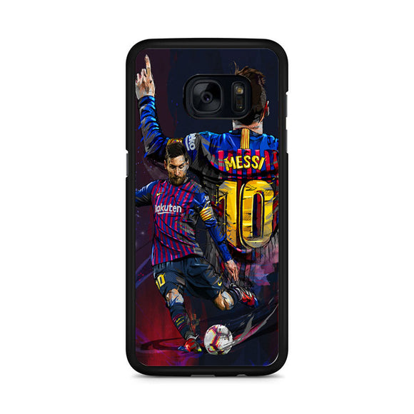 Lionel Messi FC Art Samsung Galaxy S7 Edge Case