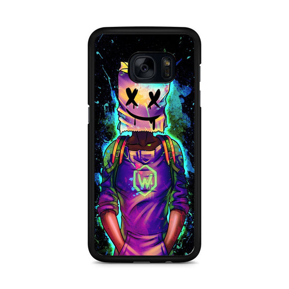 Marshmello Illustration Samsung Galaxy S7 Edge Case