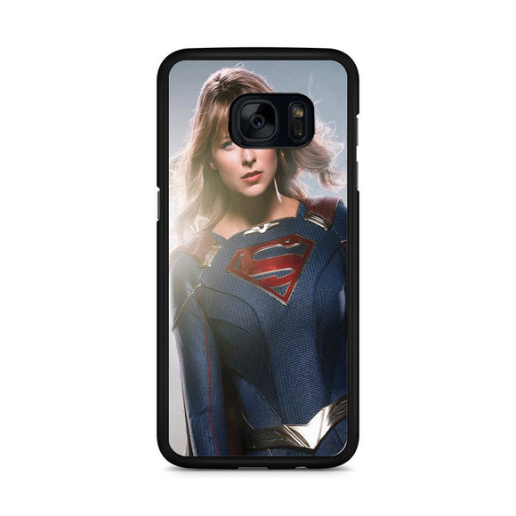 Melissa Benoist In Supergirl Season 5 Samsung Galaxy S7 Edge Case