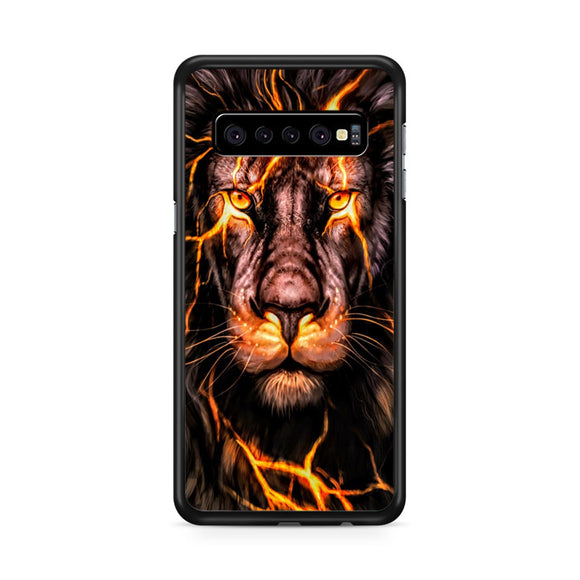 Red Hot Lion Samsung Galaxy S10 Plus Case