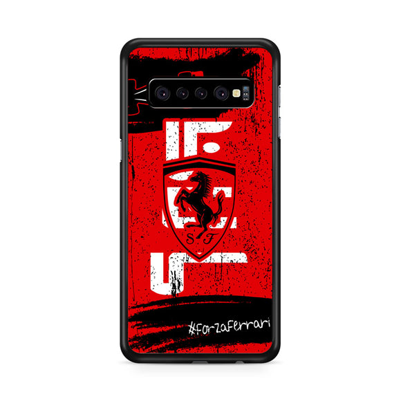 Scuderia Ferrari Mission Winnow Samsung Galaxy S10 Plus Case