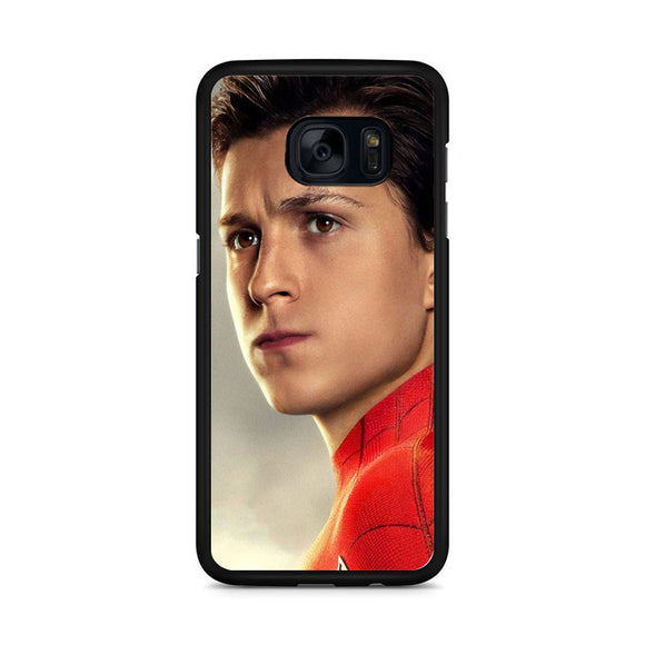 Tom Holland As Peter Parker In Spider-Man Far From Samsung Galaxy S7 Edge Case
