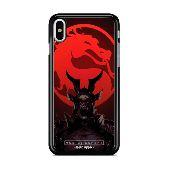 Shao Kahn Poster iPhone XS Case