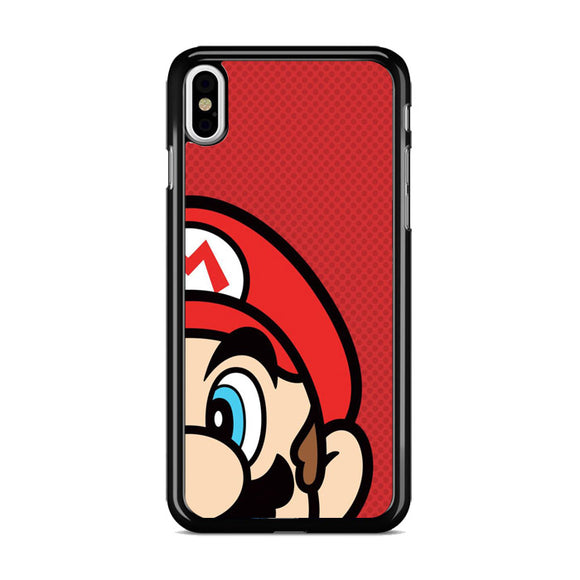 Super Mario Bross Angel Side iPhone XS Case