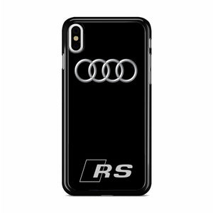 new products 84f24 cb388 Audi RS iPhone XS Case | Republicase