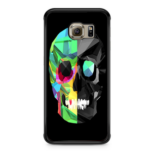 Abstrack Skull Samsung Galaxy S6 Edge Case | Republicase
