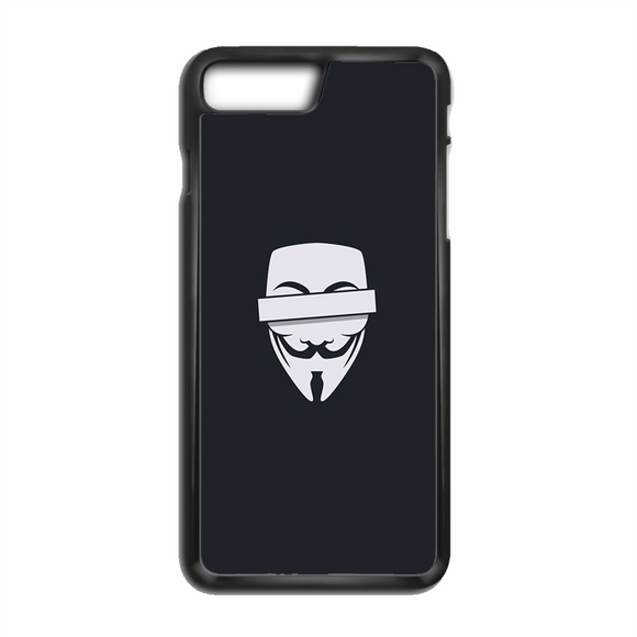 Anonymous Cencored Eye Mask Ilyst Minimal iPhone 8 Plus Case | Republicase