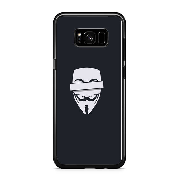 Anonymous Cencored Eye Mask Ilyst Minimal Samsung Galaxy S8 Case | Republicase