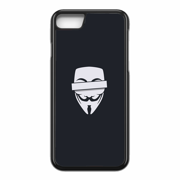 Anonymous Cencored Eye Mask Ilyst Minimal iPhone 7 Case | Republicase