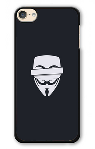 Anonymous Cencored Eye Mask Ilyst Minimal iPod 6 | Republicase